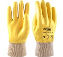 "Перчатки ""Техник Лайт РП"" TNL-05P (нитрил,резинка,полный облив,облегч. 2 слоя) р. М,L,XL Manipula"