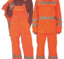 """Костюм """"МАГИСТРАЛЬ-СПЕЦИАЛИСТ"""": куртка длинная, полукомбинезон оранжевый с СОП"""