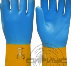 """Перчатки """"НЕОЛАТ"""" р.S,M,L,XL (смесь неопрена и латекса, хлопковый слой, толщ.0,70мм,дл.320мм.)"""