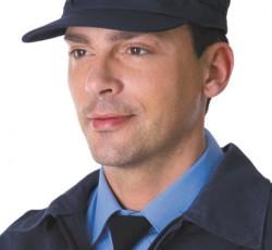 Кепи охранника летнее синее