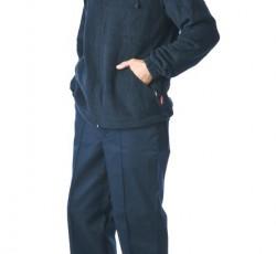 Куртка флисовая 260 г/кв.м. мужская тёмно-синяя