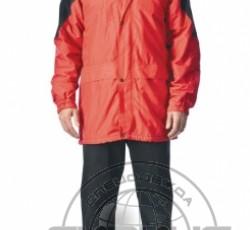 """Куртка """"КЛАССИКА"""" красная с чёрным"""