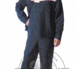 """Костюм """"ЭКСПЕРТ"""": куртка, п/комб. тёмно-синий с оранжевым и СОП"""