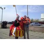 Как известно, с 9 по 11 мая 2008 года в городе Чебоксары прошел XXIII Кубок мира по спортивной ходьбе. Конь компании «Сириус-Спецодежда» все три дня соревнований развлекал гостей и жителей столицы. Вот некоторые фотографии с праздника: