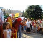 Участие коня в Дне города Чебоксары, август 2008 г.