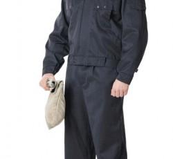 """Костюм """"ОХРАННИК"""" летний: куртка, брюки чёрный"""