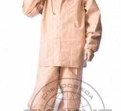"Suit ""Rokon-Buksa"" for fishing: jacket, bib overall (1045 fabric) orange"