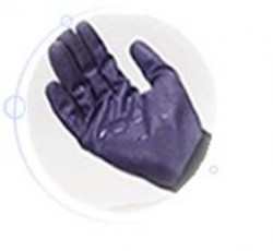 Перчатки Kleenguard G40 PURPLE NITRILE с нитриловым покрытием