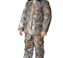 "Suit ""Fisherman"": jacket, ""Dark Forest""camouflage bib overall."