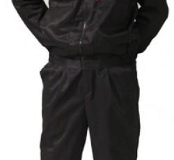 """Костюм """"ВЫМПЕЛ"""": куртка, брюки (тк. смесовая) черный"""