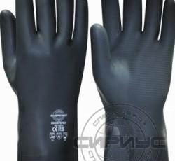 """Перчатки """"МИКСПРЕН"""" р.S,M,L,XL (смесь неопрена и латекса, хлопковый слой, толщ.0,70мм,дл.320мм."""