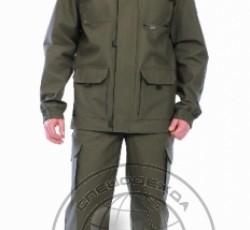 "Куртка-штормовка ""ГЕО"" ( п-но палаточное ) хаки"