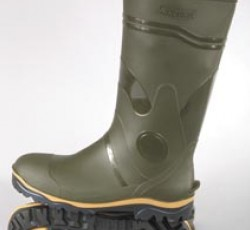 PVC high boots for men, acid and alkali, oil resistant, height 38sm