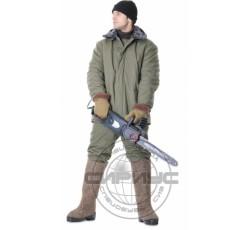 """Костюм """"МЕТЕЛЬ"""": куртка дл.,брюки (п-но палаточное, ватин) оливковый"""