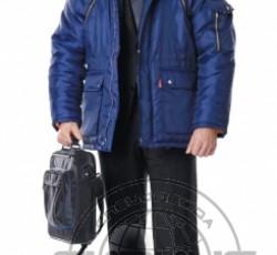 """Куртка """"АЛЯСКА"""" дл.,мужская тёмно-синяя"""