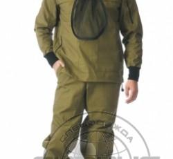 "Костюм противоэнцефалитный ""АНТИГНУС-3"": куртка, брюки (п-но 100% х/б хаки"