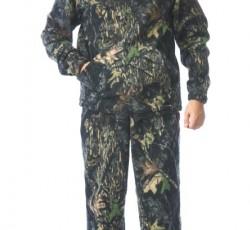"""Костюм флисовый: джемпер, брюки КМФ """"Тёмный лес"""""""