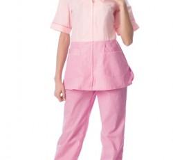 """Костюм """"СТЕФАНИ"""" женский: куртка, брюки, колпак розовый с тёмно-розовым"""
