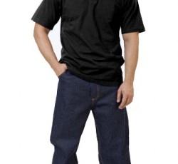Рубашка-поло короткие рукава чёрная