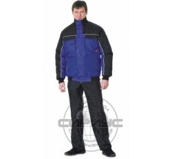 """Куртка """"АВТОМАСТЕР"""" темно-синяя с чёрным"""