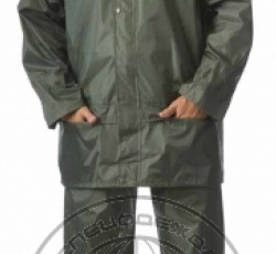 "Suit ""Liven"", nylon: jacket, trousers, green"
