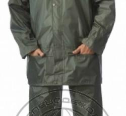 "Suit ""Liven"", nylon: jacket, trousers, green"