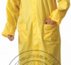 """Nylon raincoat """"Rain shower"""", yellow"""