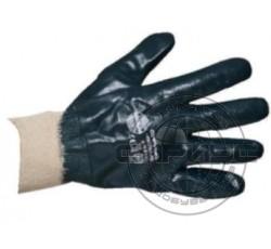 Перчатки нитриловые с эластичными манжетами обливные (аналог HYCRON), р.XL