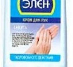 """Крем гидрофобный """"Элен"""" для защиты рук от водных растворов, 100 мл."""