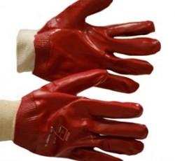 """Перчатки """"ГРАНАТ"""" 100% х/б с ПВХ покрытием, полный облив, манжет резинка, МБС, р. 10,5"""