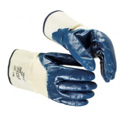 """Перчатки """"НИТРОС КЧ"""" (покр. частичн.нитрил, основа х/б, манжет крага, дл. 265 мм.) (пар) (х120)"""