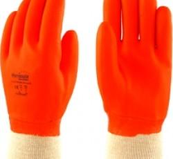 """Перчатки утепленные """"НОРДИК РП"""" ТР-06 (двухслойный ПВХ, манжет трикотажный, длина 280мм), р.XL Manipula"""