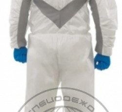 "Single-use Dungarees ""Kleenguard"" A 25 with an elastic insertion (89970)"