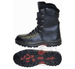 """Ботинки """"ОМОН"""" с высоким берцем, Нитрил"""