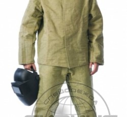 Костюм сварщика: куртка, брюки брезентовый