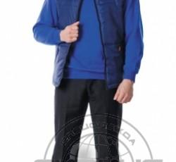 """Жилет """"БЕРКУТ"""" утеплённый мужской синий"""