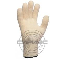 Перчатки номекс/кевлар с подкладкой из хлопка (85% номекс, 15% кевлар, длина 27 см)
