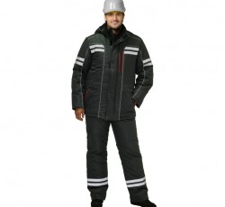 "Костюм ""Галактика""- зимний: куртка, брюки, т.серый и СОП"