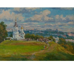 Заслуженный художник Чувашской Республики Данилов Анатолий Васильевич 1954 г.р. 1