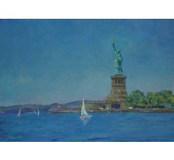 "Дубров А.П. ""New-York. Statue of Liberty"". 2013"